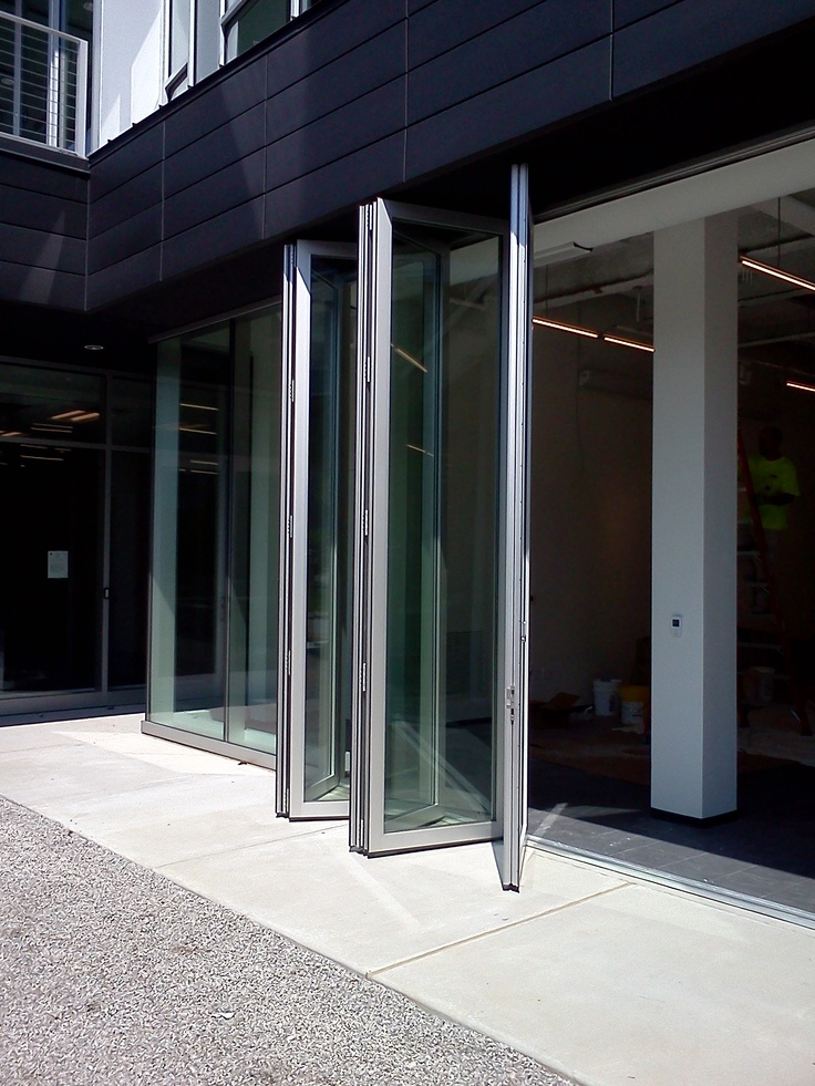 Operable glass doors patented g3 marine glazed bifold for Folding glass walls