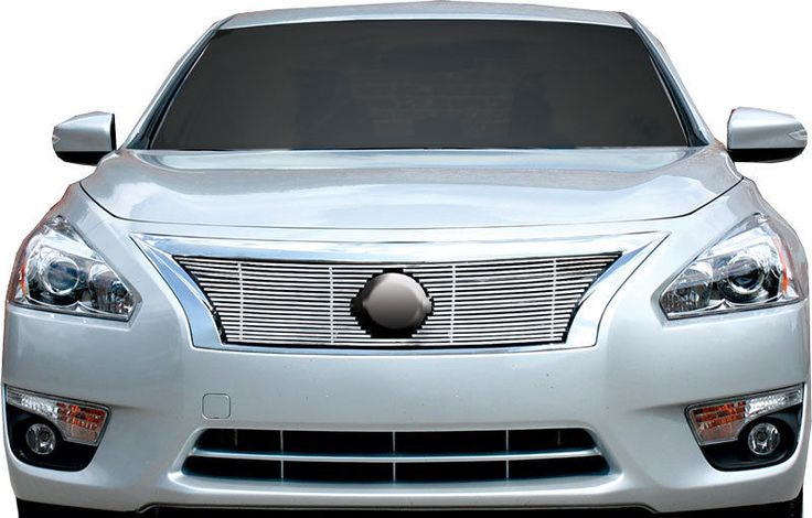 nissan altima billet grille grill insert chrome stainless. Black Bedroom Furniture Sets. Home Design Ideas