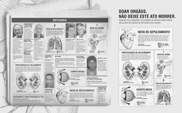 Doação de Órgãos | Clube de Criação