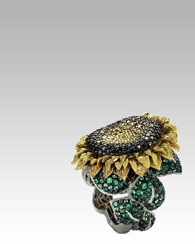 Alex Soldier: For me, jewelry is a work of art - Haute Couture - Sunflower