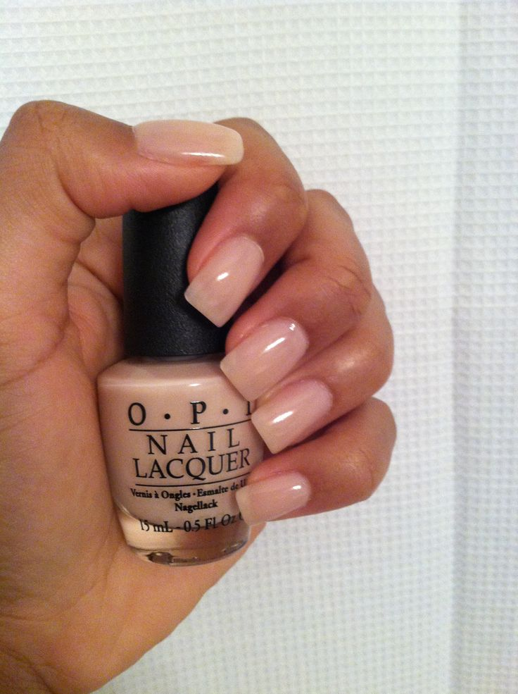 Opi S Quot Bubble Bath Quot Over My Gel Nails Which Are Very