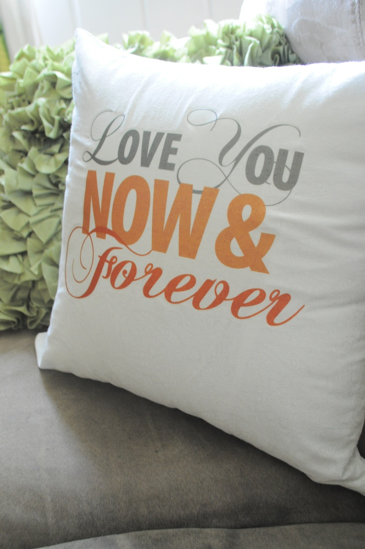 Our Gift To Each Other 2nd Anniversary Pillow Cotton