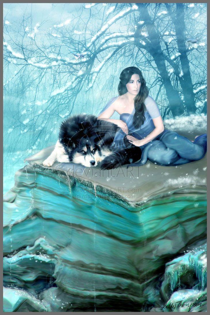 Women and wolves --- relationships, feminine, Native American mythology/folklore....