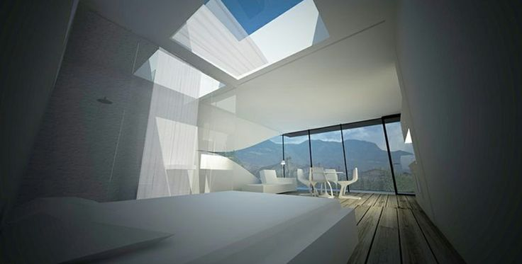 Rendering by Peter Pichler Architects with MYTO chairs, design Konstantin Grcic. Download 2D&3D data here: http://www.plank.it/product/myto-chair/