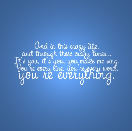 [Everything - Michael Bublé]