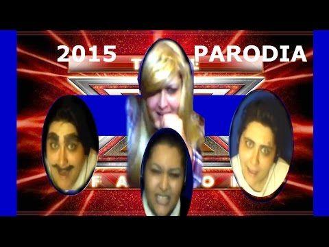 PARODIA SKIN x FACTOR 2015 eleonora mika elio - YouTube