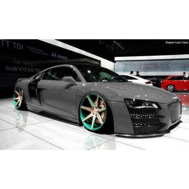 roxtunecars:  Audi R8 top gear hot cars