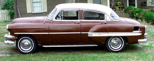 155 best images about craigslist ebay finds on for 1954 chevy bel air 4 door