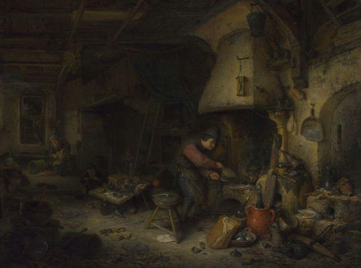 An Alchemist ~ Adriaen van Ostade 1661