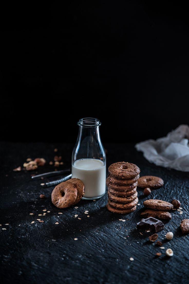 """Biscotti all'avena, farro, pistacchi, nocciole e cioccolato - Dafne's Corner ...""""il Gusto"""""""