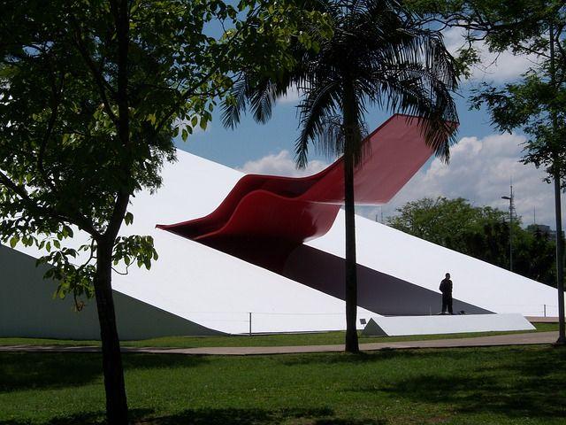 Ibirapuera Auditorium - South America's Biggest City- Sao Paulo Brazil