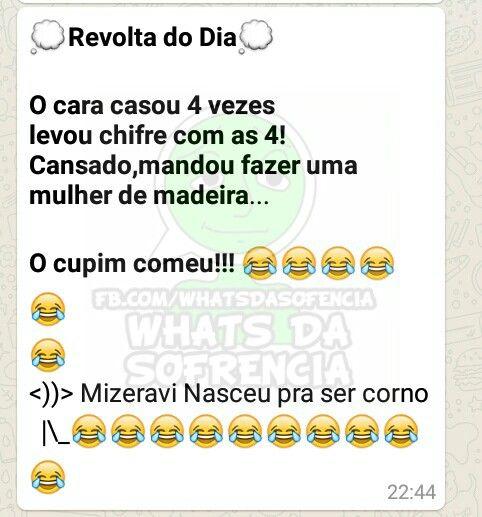 """As 10 Melhores Piadas do """"Mizeravi"""" ~ ZapZap da Zoeira"""