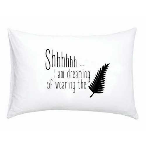 Dreaming Of Wearing The Fern Single Pillowcase