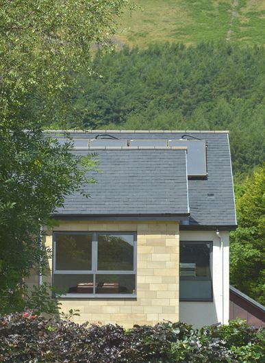 The apartments are highly insulated, have full underfloor heating throughout – linked to solar thermal panels and have mechanical ventilation with heat recovery.