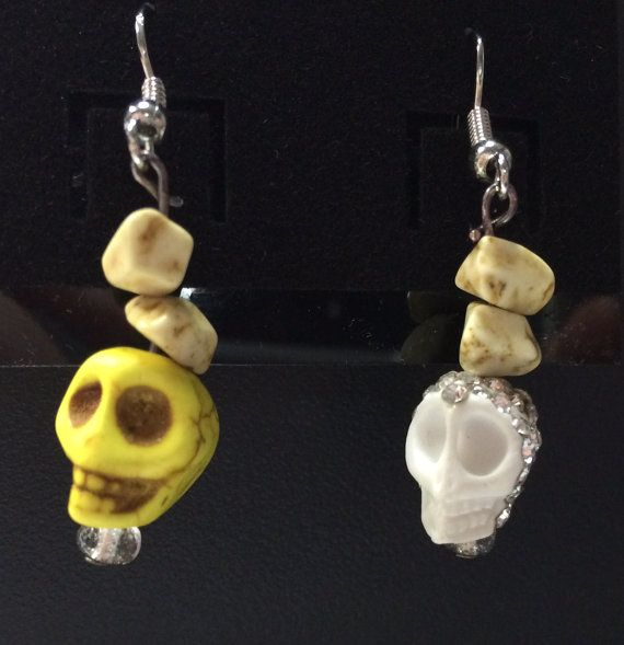 Skull Drops by FantasyExpressions on Etsy