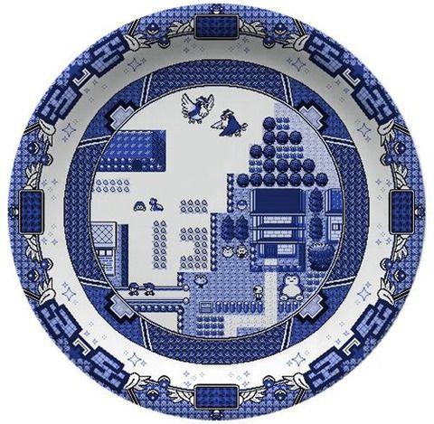 外人「ヒマだから作った」ポケモンのマップを中国の陶磁器風に描いたお皿がスゴイwwwwwwww : ポケモン速報 @オメガルビー・アルファサファイア