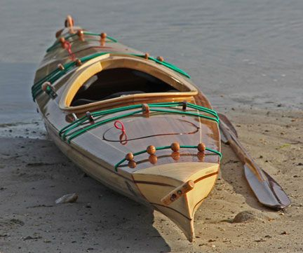 Wooden Boats for Sale - Wood Strip Sea Kayaks and Canoes, most beautiful boats in the world, wood, canoe,s kayaks, plans
