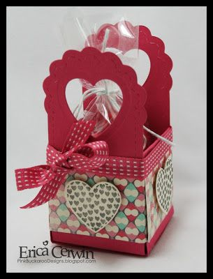 #two tags treat basket #stampin up