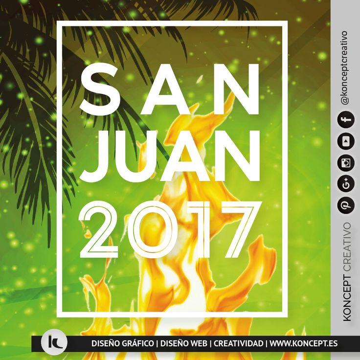 Esta semana dedicamos el #happyweekend y #happyfriday a la víspera de San Juan, noche de hogueras en calles y plazas, de renovación y de disfrute en la playa y ¡como no! de petardos y fuegos artificiales, noche de alegría y mucha diversión entre amigos y familiares. Por que nos lo merecemos ¡viva la fiesta de San Juan!!!  ➡️➡️http://www.koncept.es #sanjuan #nitdesantjoan #revetllasantjoan #fiesta #hogueras #renovacion #purificacion #petardos #fuegosartificiales #diversion #fogata #playa…
