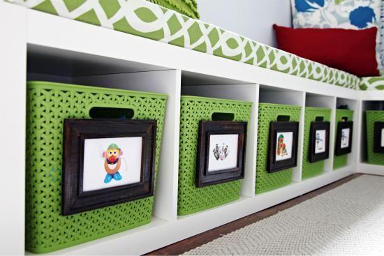 C mo organizar los juguetes toma nota organizaci n de - Organizar habitacion infantil ...