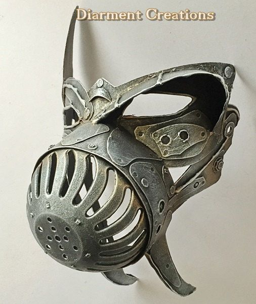 Steampunk Animal Mask by diarmentcreations on Etsy