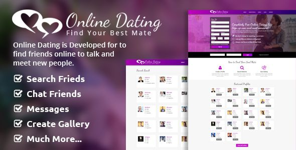 Online Dating Script v2.1 is built with the well-known PHP framework CodeIgniter 3.0.0. No need to have any programming skills to put this script live thanks to the complete documentation. The script will be often updated with new features and you will be able to get these updates for free once...