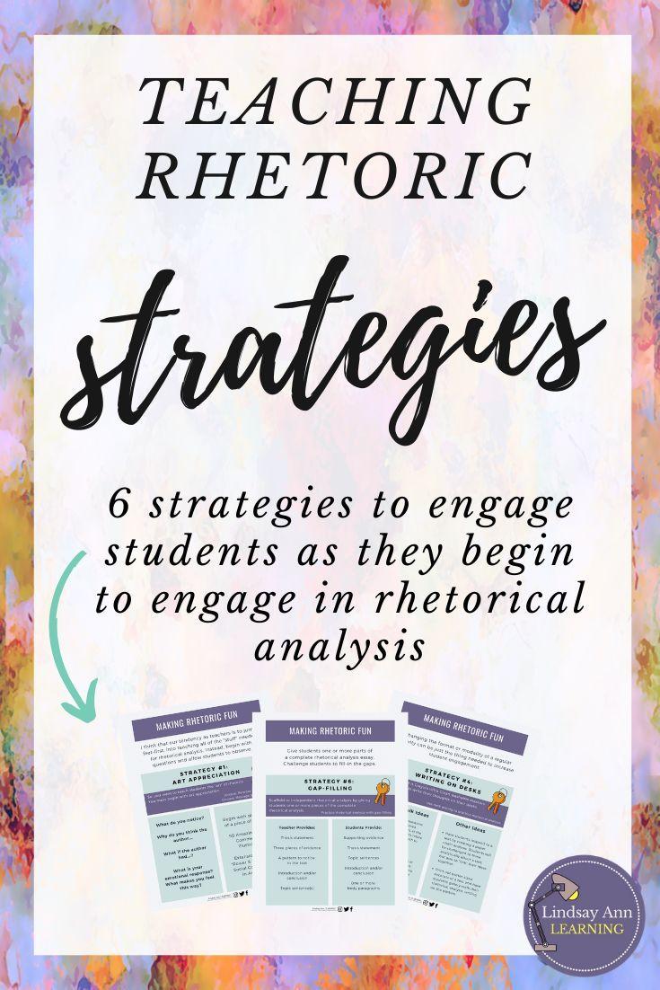 Teaching rhetorical appeals & rhetorical devices o…