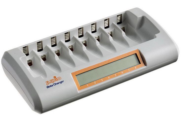 Chargeur Octo Jupio - chargeur rapide pour 8 piles AA ou AAA batterie appareil photo - Vente de batterie appareil photo Chargeur Octo Jupio - chargeur rapide pour 8 piles AA ou AAA. Livraison Batterie appareil photo Chargeur Octo Jupio - chargeur rapide pour 8 piles AA ou AAA en 48 heures express.