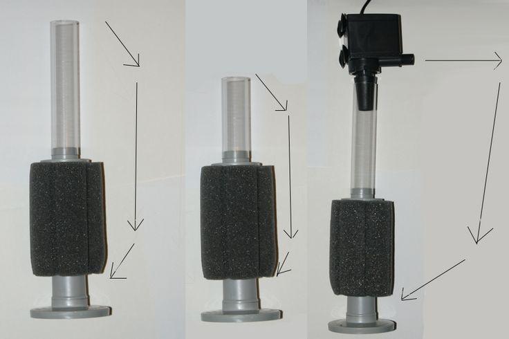 55 best d i y how to aquarium pond images on for Fish pond filter sponges