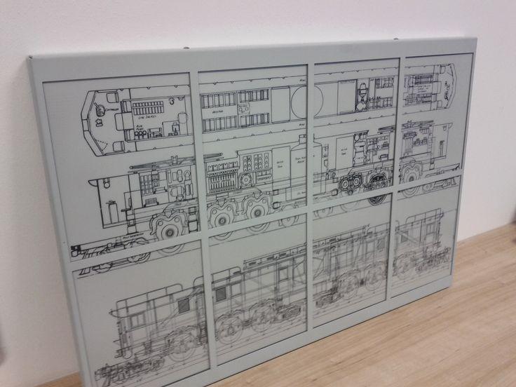 8- up display example @ office Gdynia   #ePaperdisplay #epapersignage #einksignage #mpicosys #8-up #epaper #eink #picosign