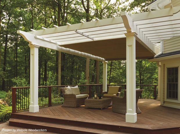 Retractable Pergola Canopy In Morris Plains 2   This Is Gorgeous...with  Tips About Planning A Pergola. | IN THE GARDEN | Pinterest | Retractable  Pergola, ...