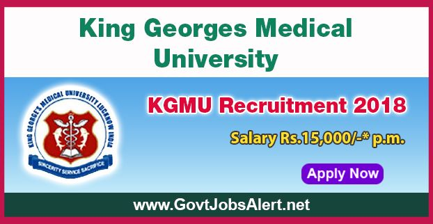 KGMU Recruitment 2018 – Walk in Interview for Palliative Care Nurse Post, Salary Rs.15,000/- : Apply Now !!!  The King Georges Medical University - KGMU Recruitment 2018 has released an official employment notification inviting interested and eligible candidates to apply for the positions of Palliative Care Nurse. The interested candidates have to attend the walk in interview to apply to the post in the prescribed format website (given below).   #2018 #Bachelordegree #B
