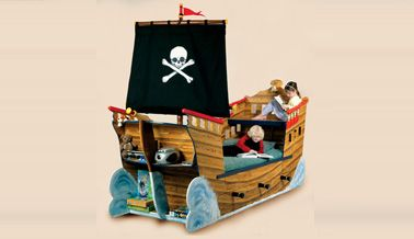 Pirate Ship Bed: The Best Pirate Ship Bed on the market -- way out of ...