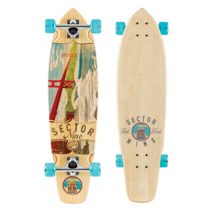 Sector Nine Ft. Point Complete Longboard Skateboard BBF152C