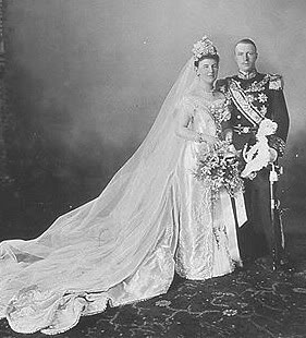 Queen Wilhelmina of the Netherlands and Duke Heinrich of Mecklenburg-Schwerin - 1901