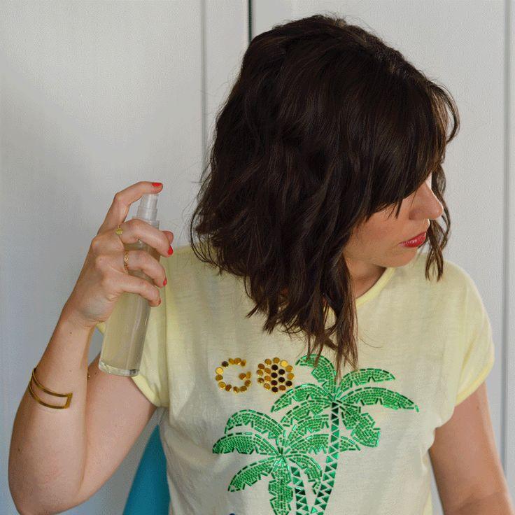 Envie de cheveux wavy en 5 mn top chrono ? Adopter mon beach spray au sel de mer avec uniquement des ingrédients naturels ! http://www.sweetandsour.fr