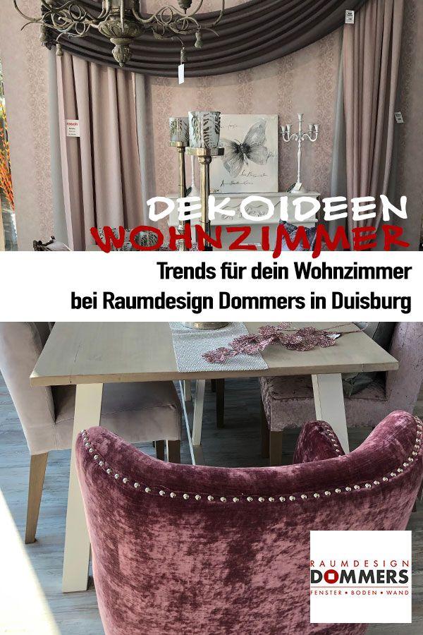 Wohnzimmer Einrichtung Idee Samt Sessel Esstisch Deko Raumdesign Dommers In Duisburg Zimmergestaltung Raumdesign Wohnzimmer Ideen