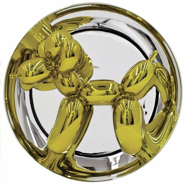 Check out jeff koons balloon dog yellow 2015 from