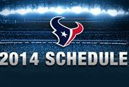 Texans 2014 Schedule Released - anyone for a game at Giants stadium??