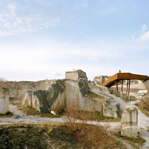 The Austrian quarry in St. Margarethen. Image courtesy of AllesWirdGut Architektur. Photographers names listed in the credits at the end of the article.