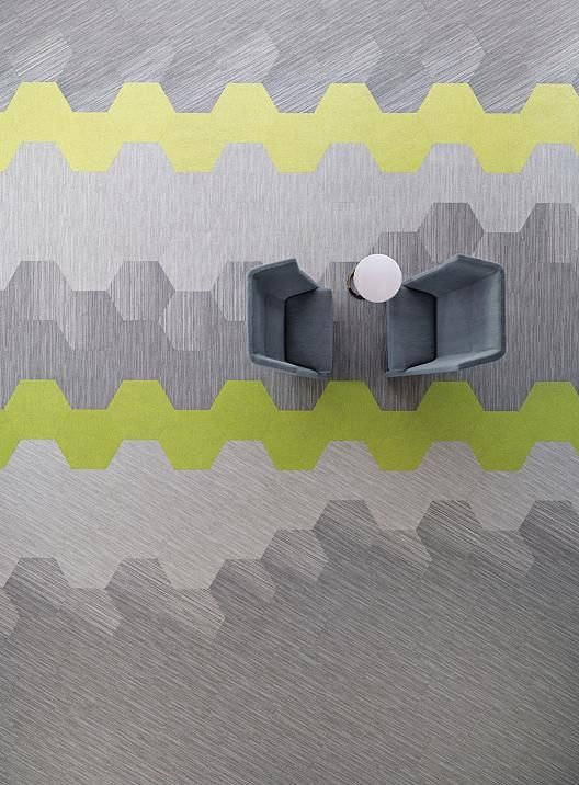 linear shift hexagon | 5T056 | Shaw Contract Group Commercial Carpet and Flooring