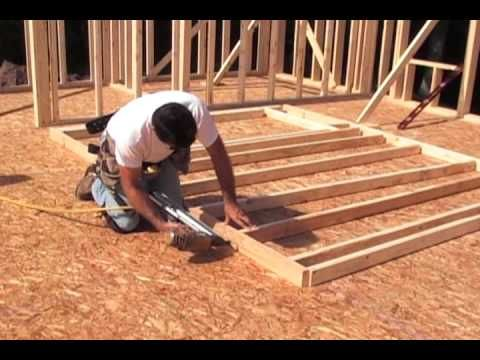 Step By Step Instruction On Framing A Wall Watch as a non-load bearing wall is being constructed. See how to stack the wall studs with floor joists and what a typical door opening should look like. How to fasten your wall in place and make sure it is plumb. One of the most important things …
