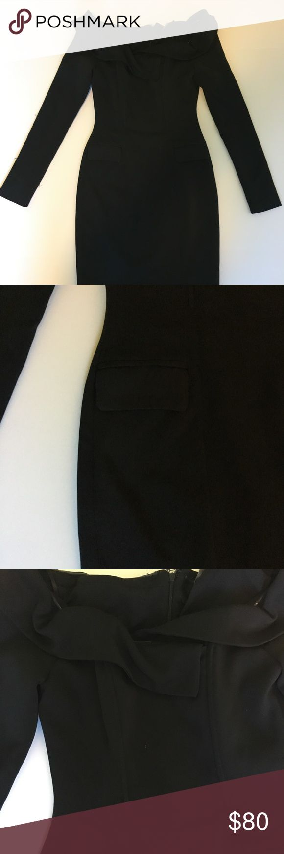"Lavish Alice Shoulderless Mini Brand: Lavish Alice  Size: US 4 UK8 EUR36  Condition: Gently Used  Retail Price: $215  Color: Black  Style: Off Shoulder Armpit to armpit: 15"" Waist: 12"" Length Shoulder to Hem: 26"" Skirt Sweep (Bottom Hem): 16"" Fabric Content: 97% Polyester 3% Elastane Lining Content: NA Notes: Lavish Alice Dresses Mini"