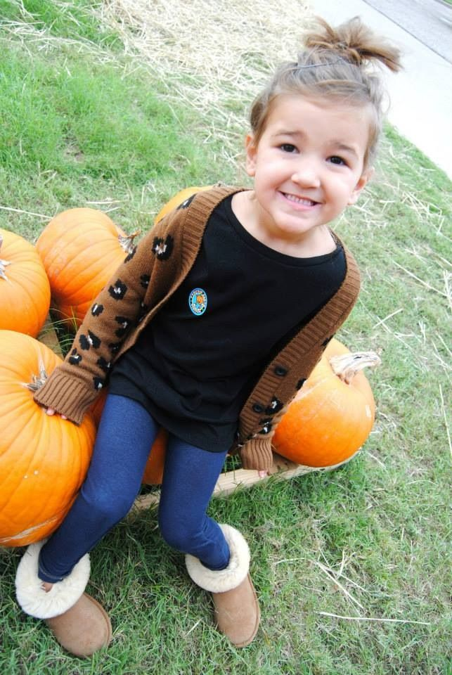 Fall fashion kid