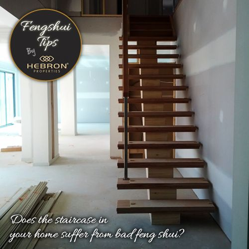 Does The Staircase In Your Home Suffer From Bad Feng Shui? A Simple Fix  Would