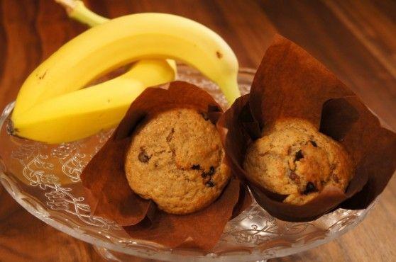 Banánové s kúskami čokolády