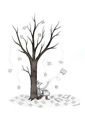Asi como las hojas renacen de nuevo, renazcamos sobre nuestros pasados. (Yo).