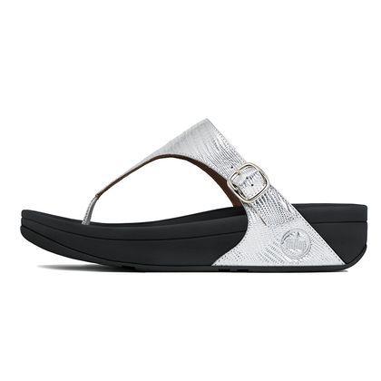The Skinny™ (Croc) Silver