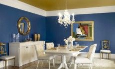 Use of Decoration in Blue and Tone