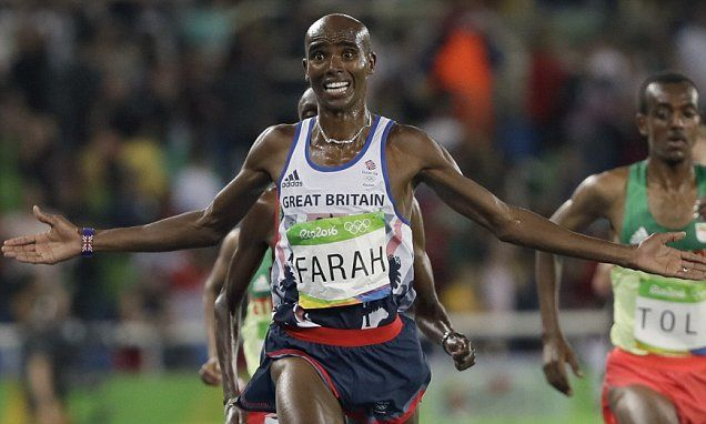 Farah admits he promised his daughter he'd win another Olympic medal